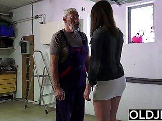 babe blowjob fucking girls grandpa hardcore