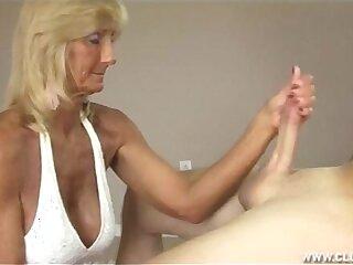 granny handjob ladies mature old