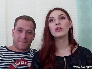 amateur anal couple cuckold hardcore hubby