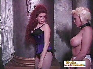 bdsm big blonde domination femdom lesbian