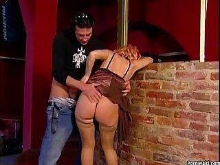 anal ass blonde blowjob cumshot facial