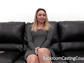 blonde casting creampie cute doggystyle high definition