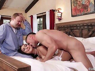 babe black blowjob boobs cuckold deepthroat