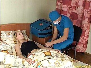 doctor sleeping