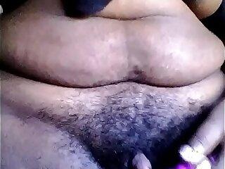 bbw big black clit ebony hairy