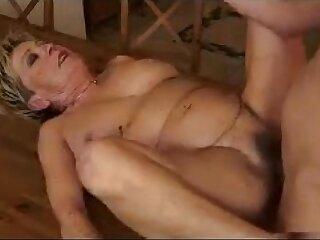 amateur anal blowjob fucking kitchen mature