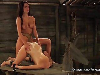 asian bdsm bondage doggystyle femdom lesbian