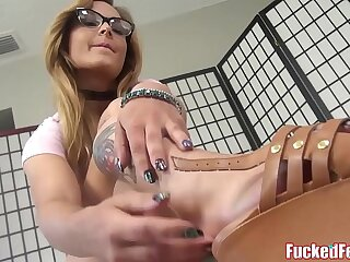 blonde fetish foot sexy girls sucking teacher