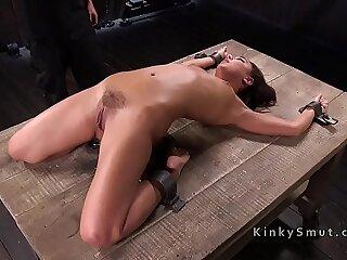 aggressive bdsm bizarre bondage brunette fetish