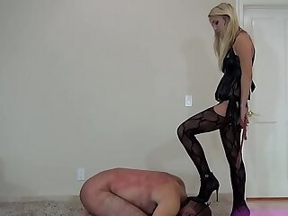 blonde femdom mistress
