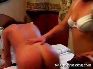 amateur ass lesbian mature milf spanking