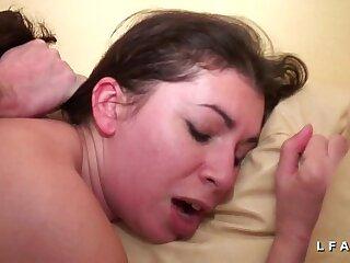 amateur anal ass brunette casting european