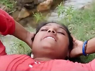 aunty indian outdoor romantic