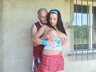 daddy grandpa licking
