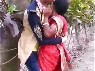 aunty desi kissing passion public