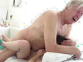 fucking old old and young