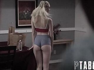 amateur anal ass blonde bukkake creampie