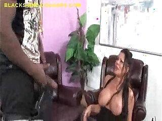 ass black brunette cumshot girls interracial