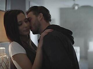 babe blowjob brunette couple cute deepthroat