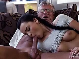 blowjob daddy family fucking girls mature