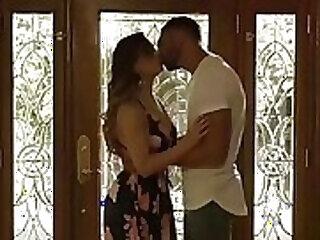big big tits blowjob brunette cheating couple