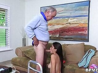 blowjob daddy fat bodies grandpa latina old