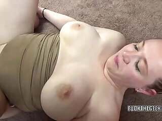 amateur big big tits boobs chubby couple