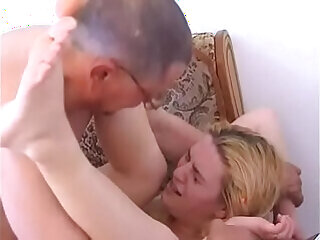 aggressive daddy daughter forced
