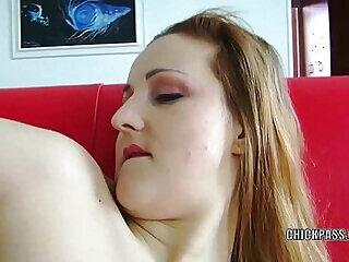 amateur czech dildo european housewife masturbating
