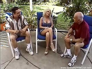amateur anal milf pool swingers threesome