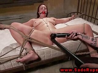 bdsm bedroom pussy redhead