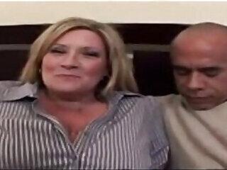 bbc bbw blonde interracial mom
