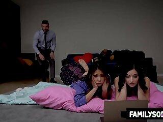 папочка дочки семья жирные тела вечеринка приемная семья