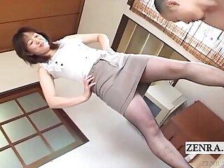 asian bdsm foot japanese milf pantyhose