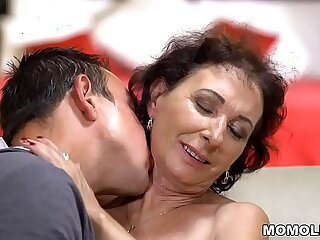 granny high definition mature old old and young tits