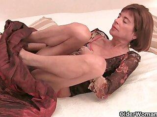 british cougar granny mature orgasm