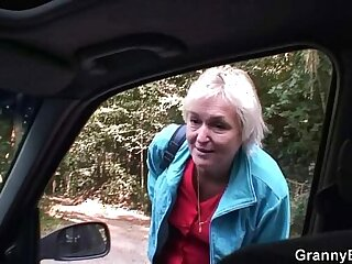 car mature milf old pussy